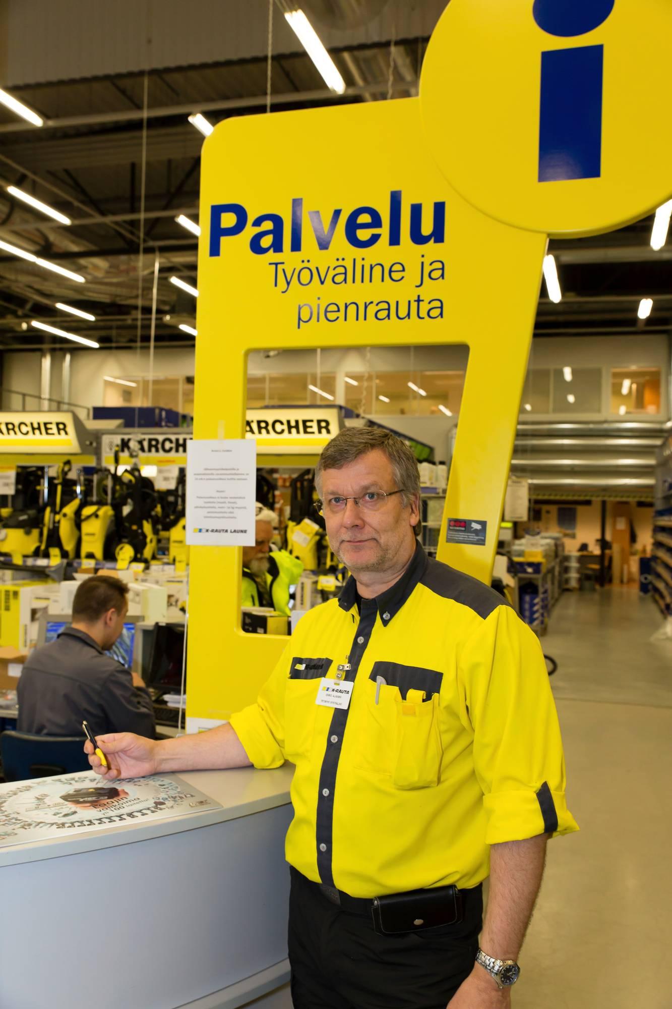 K Rauta Lahti Laune
